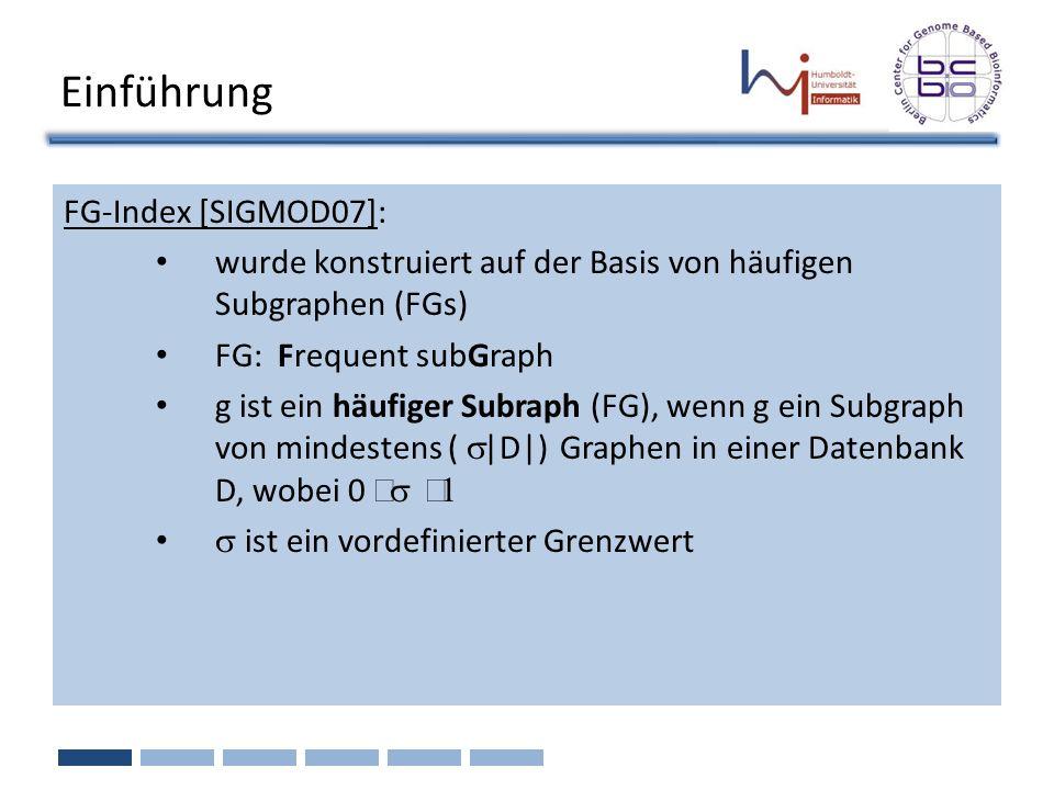 Einführung FG-Index [SIGMOD07]: